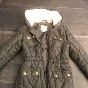 Zara girls puffed jacket
